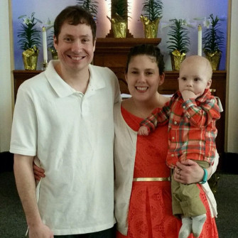 Youth Pastor Jeremy Roland and Family